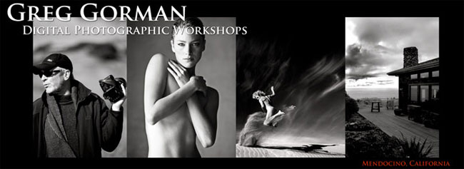 Greg Gorman Digital Photographic Workshops